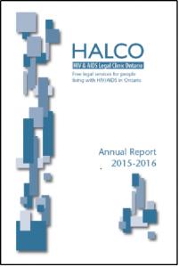 HALCO Annual Report 2015-2016