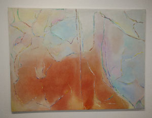 Painting by late Helena Kaufman - donated to HALCO by her family (1)