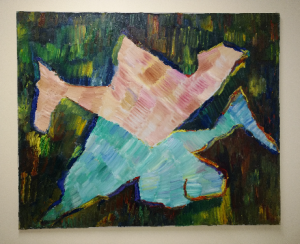 Painting by the late Helena Kaufman - donated to HALCO by her family (2)
